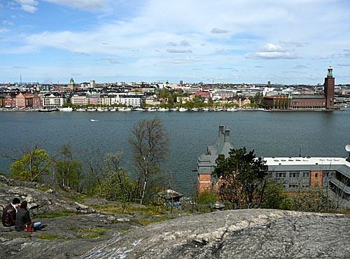 Utsikt från Skinnarviksberget